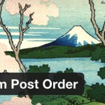 Intuitive Custom Post Order – plugin WordPress