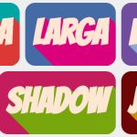 Long Shadow con jQuery