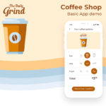 Coffee Shop – Mobile App demo